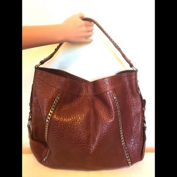 Kenneth Cole Handbags - Alligator Leather Kenneth Cole NY Bag w Chain det